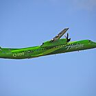 Horizon Air Green Machine by Bob Hortman