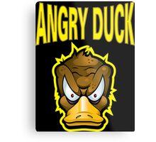 Angry Duck Metal Print