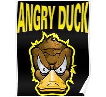 Angry Duck Poster