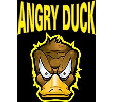 Angry Duck Photographic Print