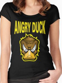 Angry Duck Women's Fitted Scoop T-Shirt