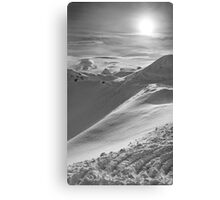 Snowy Peak Canvas Print