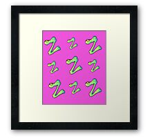 Z is for Zombie Framed Print