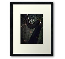 Strings of my Heart Framed Print