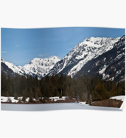 Cascade Mountains, Snoqualmie Pass Poster