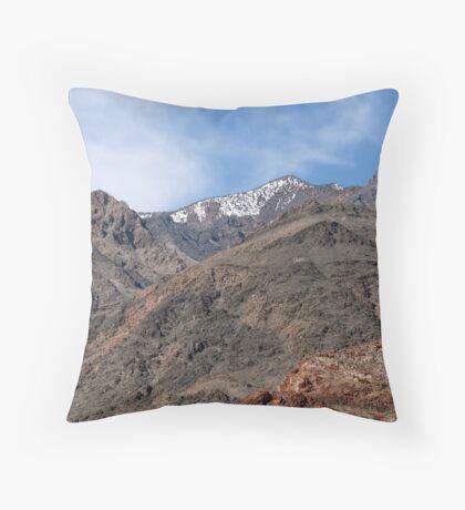 Death Valley...Smoldering Woman Throw Pillow