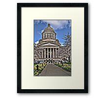 Legislative Building ~ Washington State Framed Print