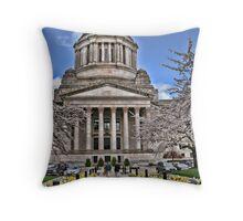 Legislative Building ~ Washington State Throw Pillow