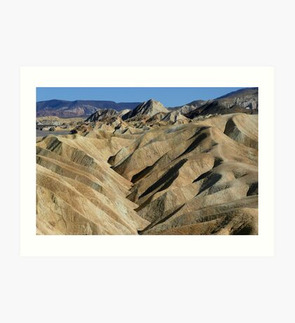 Death Valley...Smoldering Woman Art Print