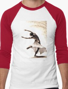 Eclectic Dancer Men's Baseball ¾ T-Shirt