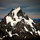 Mt Cook Aoraki, from the air. by Craig Mitchell