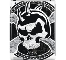 Skull Design T-Shirt iPad Case/Skin