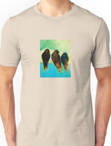 Birds at Sunrise Unisex T-Shirt