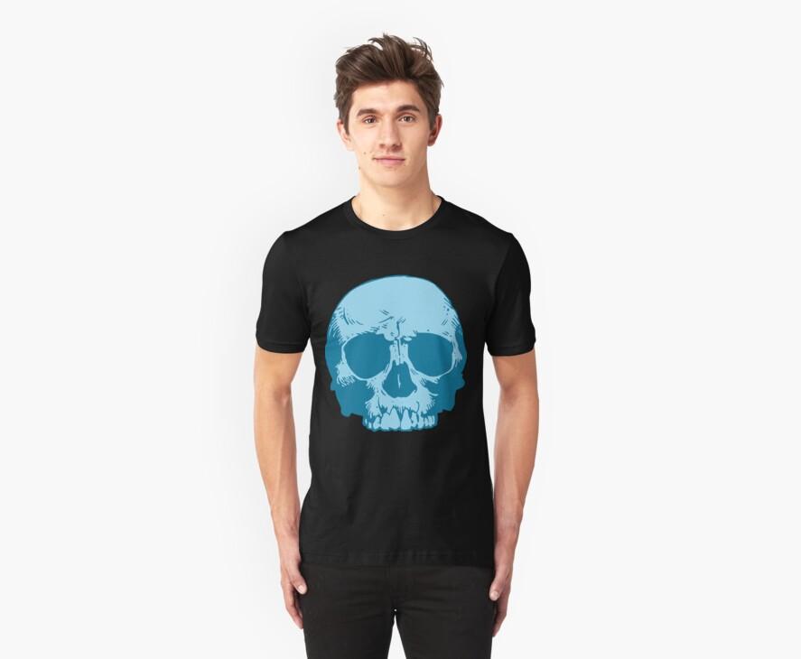 Blue Skull by KimberlyMarie