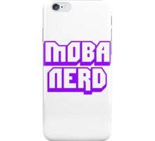 MOBA Nerd Multiplayer Online Battle Arena iPhone Case/Skin