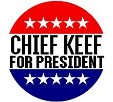 Chief Keef For President Photographic Print