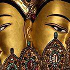 goldfaces. mcleod ganj, india by tim buckley | bodhiimages