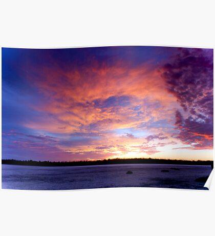 Preston Beach Sunrise - Western Australia Poster