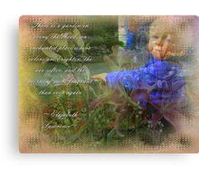 Childs Garden Canvas Print