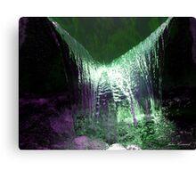 Liquid glow Canvas Print