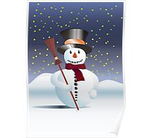 Snowman for Xmas Poster