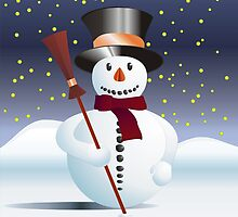 Snowman for Xmas by pASob-dESIGN