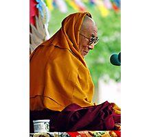 HH Dalai Lama. pin valley, northern india Photographic Print