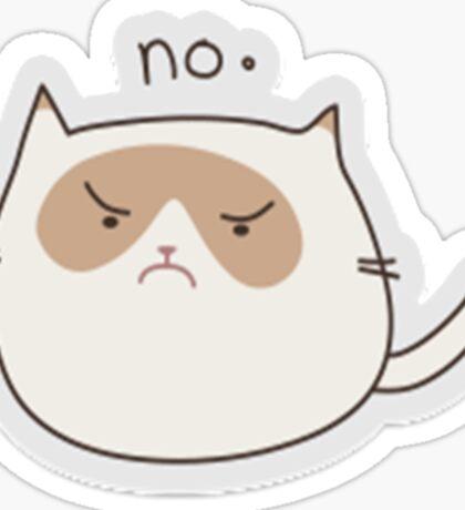 Grumpy Cat Sticker Sticker