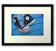 Converse All Star 1 Framed Print