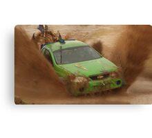 Mud Racing Canvas Print