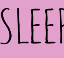 I LOVE SLEEP Sticker