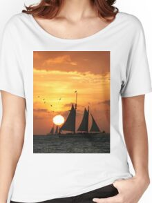 Sunset Sail in Key West II Women's Relaxed Fit T-Shirt