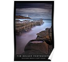 Soldiers Beach Light House Poster
