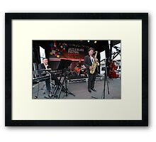 James Valentine Band @ Jazz & Blues Festival Framed Print