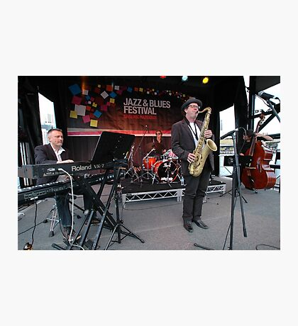 James Valentine Band @ Jazz & Blues Festival Photographic Print