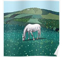 The White Horse of Alfriston Poster