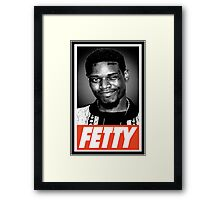 Fetty Framed Print