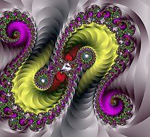 Brownie Snake  Fractal by Masoud Ahmed