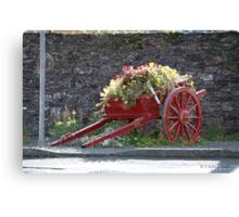 ITS LAST JOB ( GROW  FLOWERS ) Canvas Print