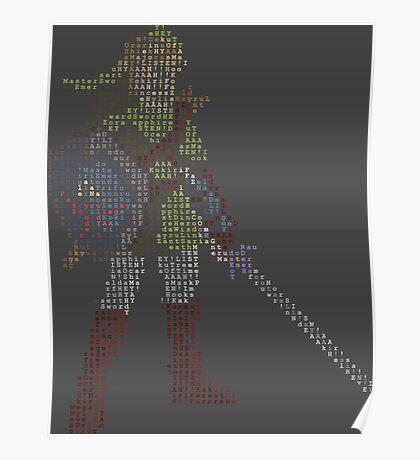 8-Bit Hero - Link Poster