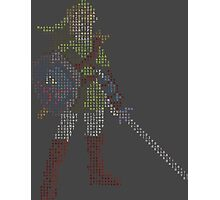 8-Bit Hero - Link Photographic Print