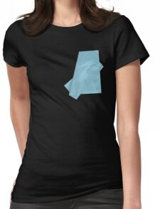 paper on cotton#2 Womens Fitted T-Shirt