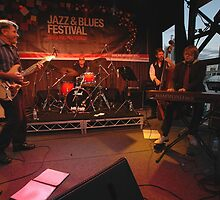 Dave Brewer & Band, Darling Harbour 2009 by muz2142