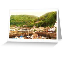 Minehead, England Greeting Card