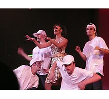 Group of Dancers in a Cruise Ship Nightclub. Photographic Print