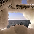 Volcano's ~ Sea Ice by lanebrain photography