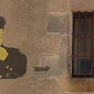 stencil prison by Grigoris Kalivas
