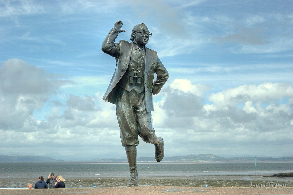 A Lancashire Lad by the Seaside by Jamie  Green