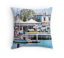 Williamstown, Victoria, Australia Throw Pillow