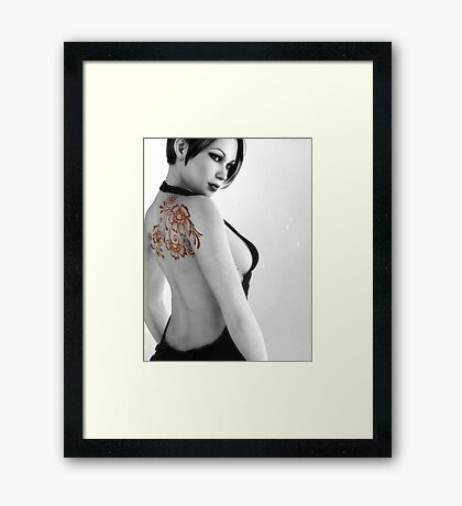 Sexy Back Framed Print